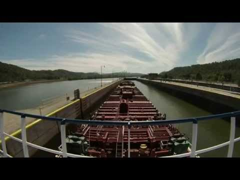 Ohio River Locks Southbound