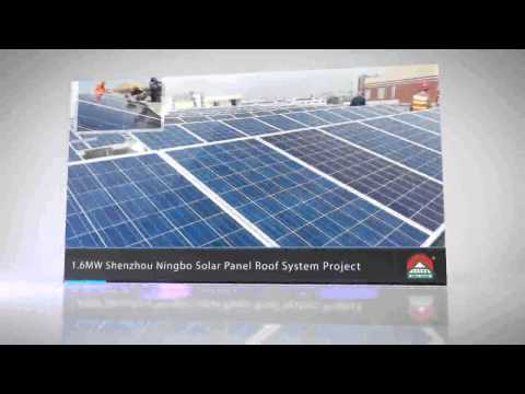 solar roof top tile project