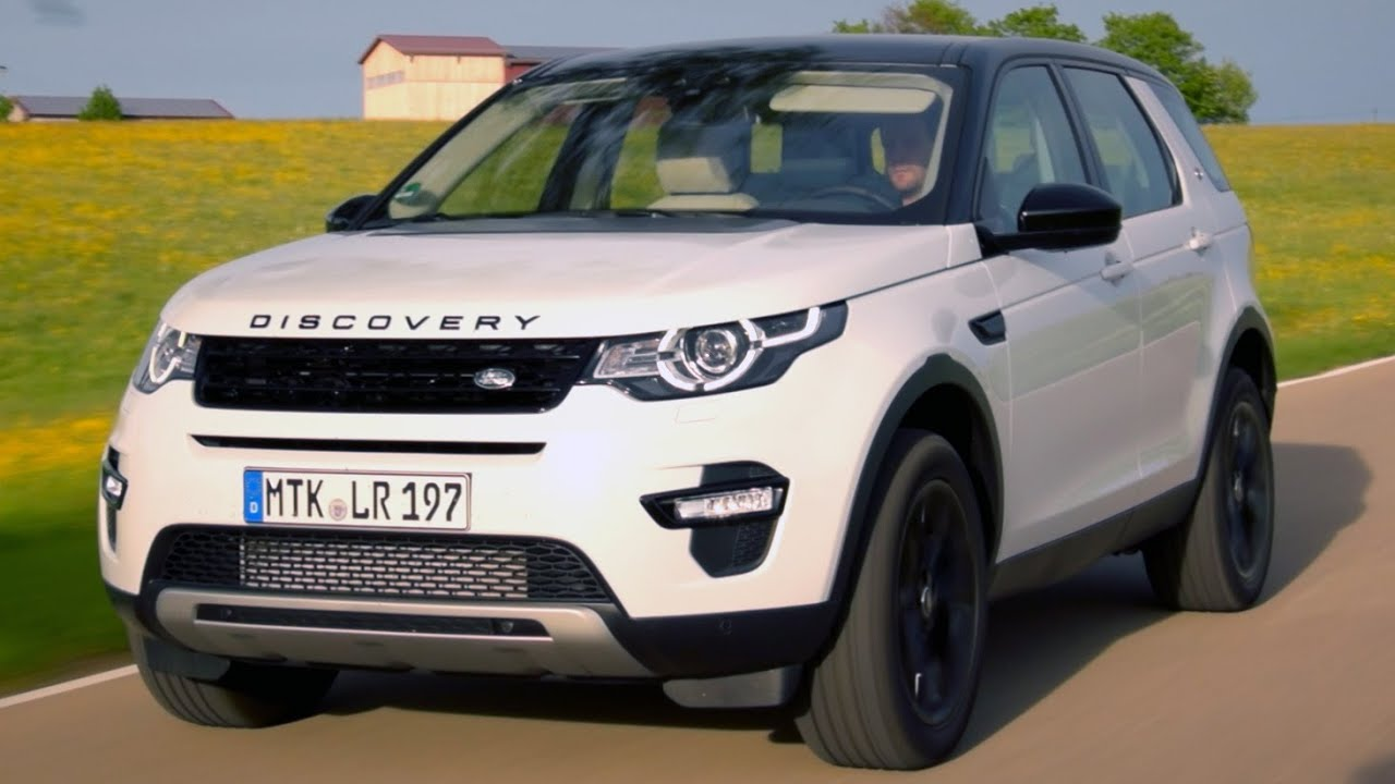 land rover discovery sport sd4 hse test ilovecars youtube. Black Bedroom Furniture Sets. Home Design Ideas