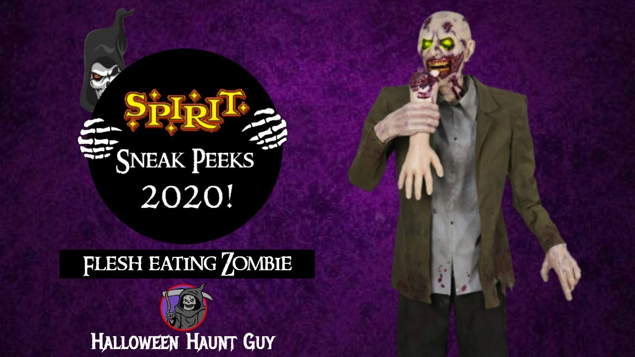 Flesh Eating Zombie returns | Spirit Halloween 2020 sneak peeks
