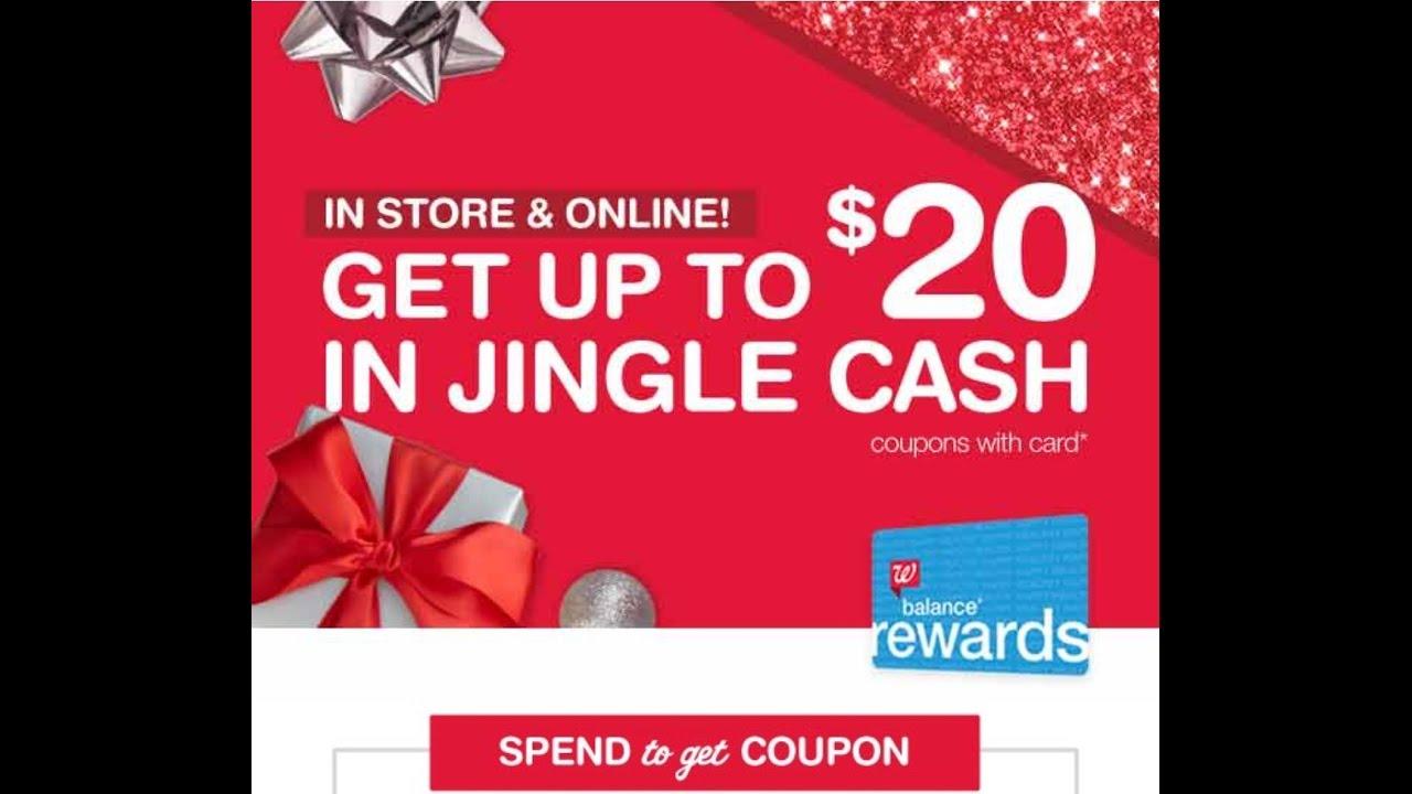 Jingle Cash!!! More savings at Walgreens!!! - YouTube
