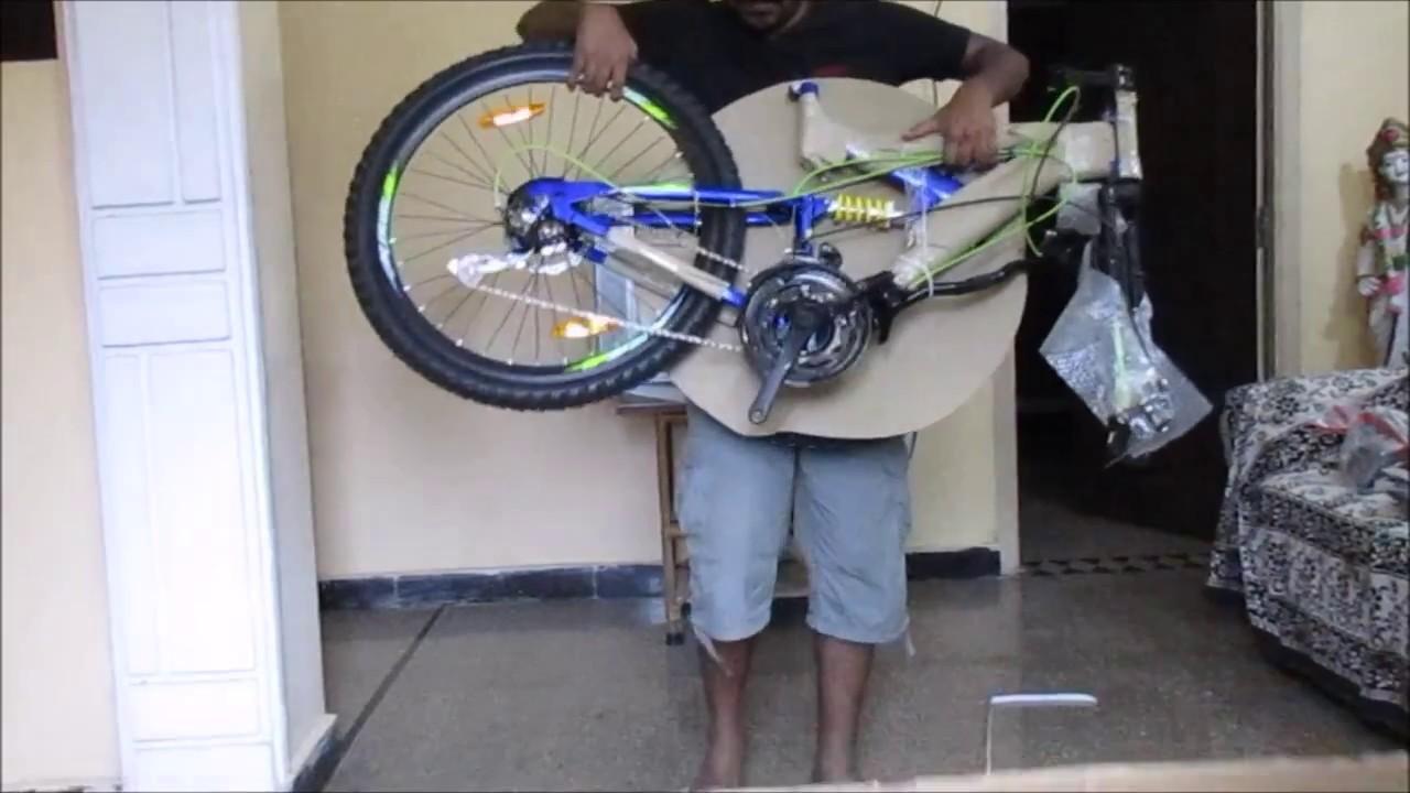 24b04234783 UNBOXING || Hercules ROADEO TURNER DD 21 SPEED - YouTube