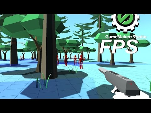 GM:S Tutorial – 3D First Person Shooter #1 (GMX included)