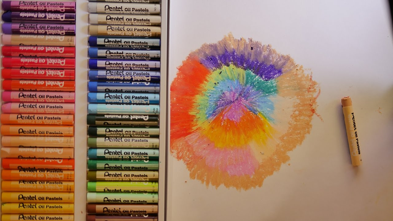 Painting With Oil Pastels And Turpentine