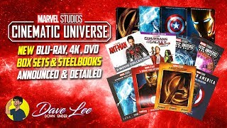 MARVEL CINEMATIC UNIVERSE - Blu-ray, 4K, DVD Box Sets & Steelbooks Announced & Detailed