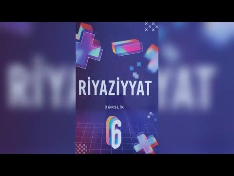 Riyaziyyat 6-ci sinif sehife 9 / Rasim Aliyev