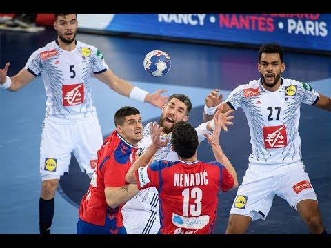 Serbia Vs France 30:39 All Goals & Highlights | Handball EHF EURO 2018 | 22.01.2018