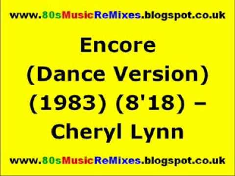 Encore (Dance Version) - Cheryl Lynn | 80s Club Mixes | 80s Club Music | 80s Dance Music | 80s R&B