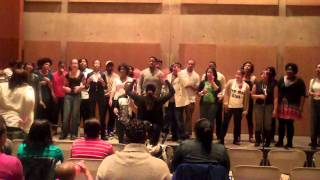 wcu 10 11 gospel choir all we want is you reunion 2012