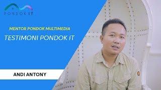 Testimoni Pondok IT - Andi Antony