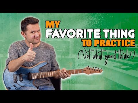 My Favorite Thing To Practice On Guitar (You'll Be Surprised!)