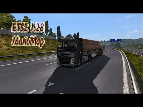 ETS2 1.28 | Mario Map v12.3 | Hannover(GER) - Baie-Comeau(CAN)