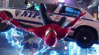 Первая свахтка Человека-Паука и Электро! Отрывок из фильма Человек-Паук: Высокое напряжение