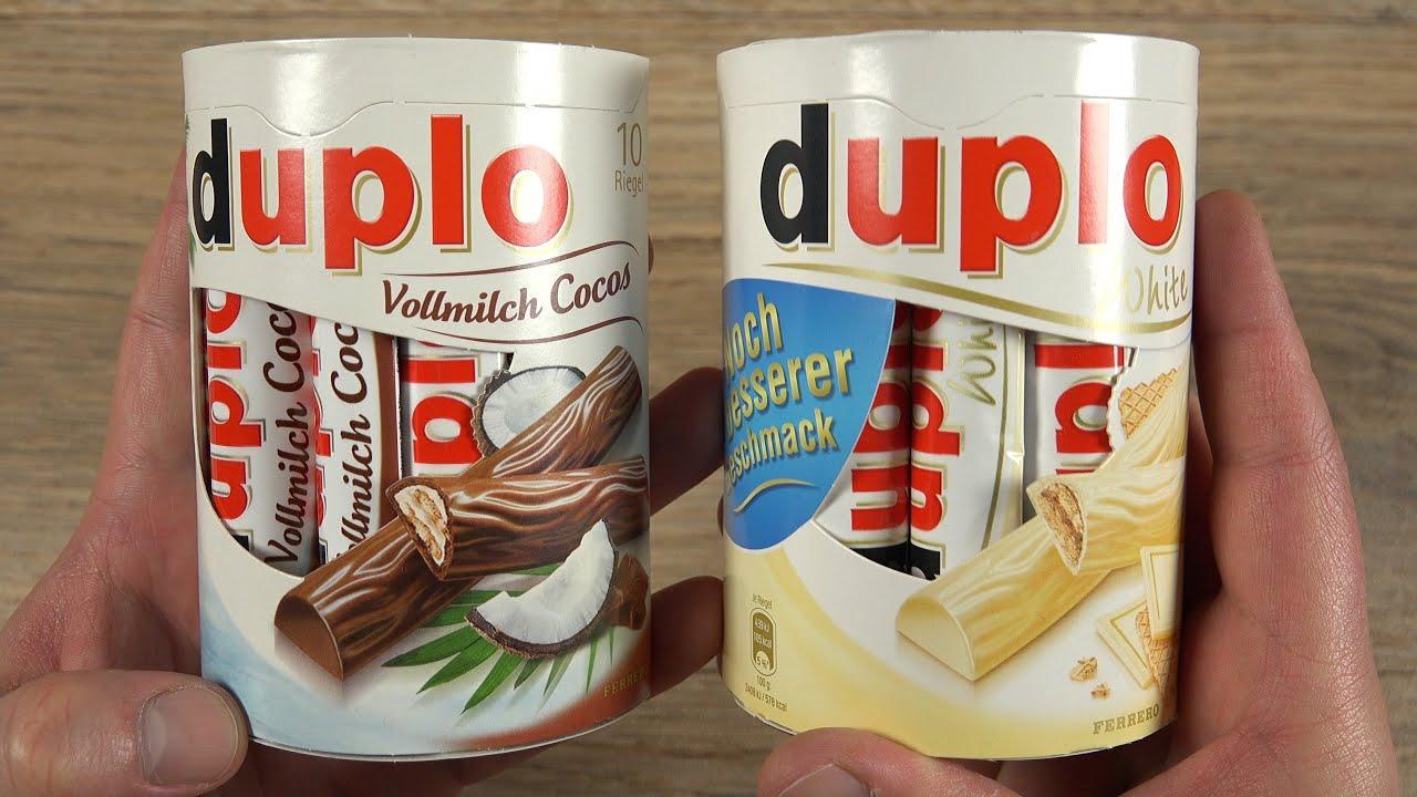 Ferrero Duplo White Cocos Youtube