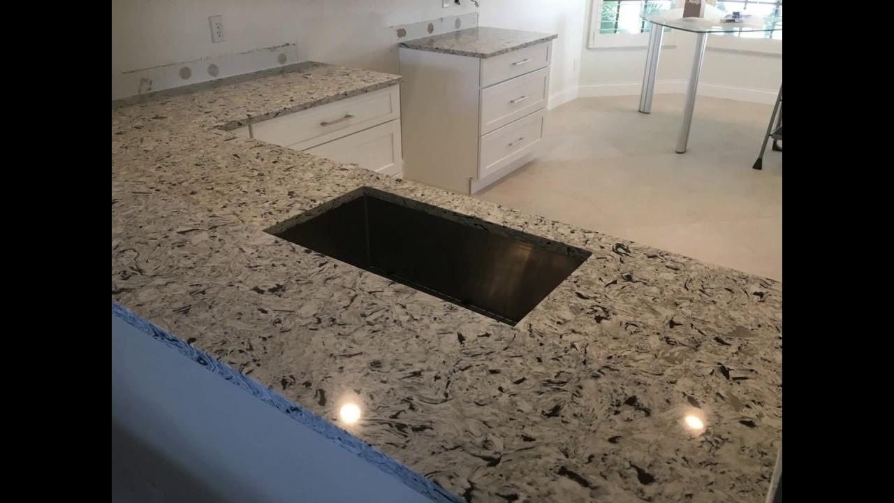 Stone And Quartz Llc Custom Countertops Palm Beach County Fl Youtube