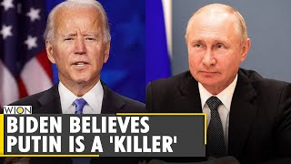 Wion fineprint: biden says putin is a 'killer' and will 'pay price' | latest english news