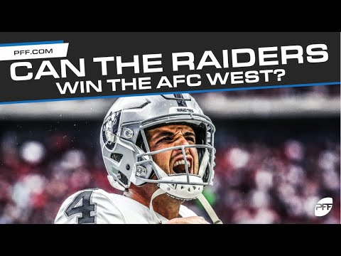 Can The Raiders Win The AFC West? | PFF