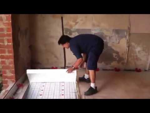 Colocaci n de panel aislante ac stico sdcubepack de - Aislante para suelo ...