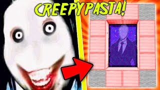 HOW TO MAKE A PORTAL TO THE CREEPYPASTA DIMENSION - MINECRAFT JEFF THE KILLER!