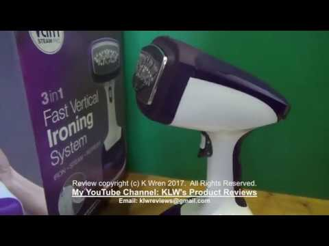 Review Of Verti Steam Pro Vertical Steam Iron