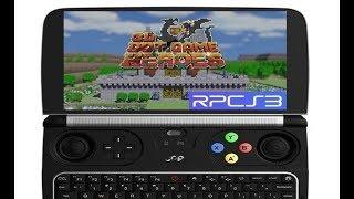 GPD Win 2 - 3D Dot Game Heroes (RPCS3)
