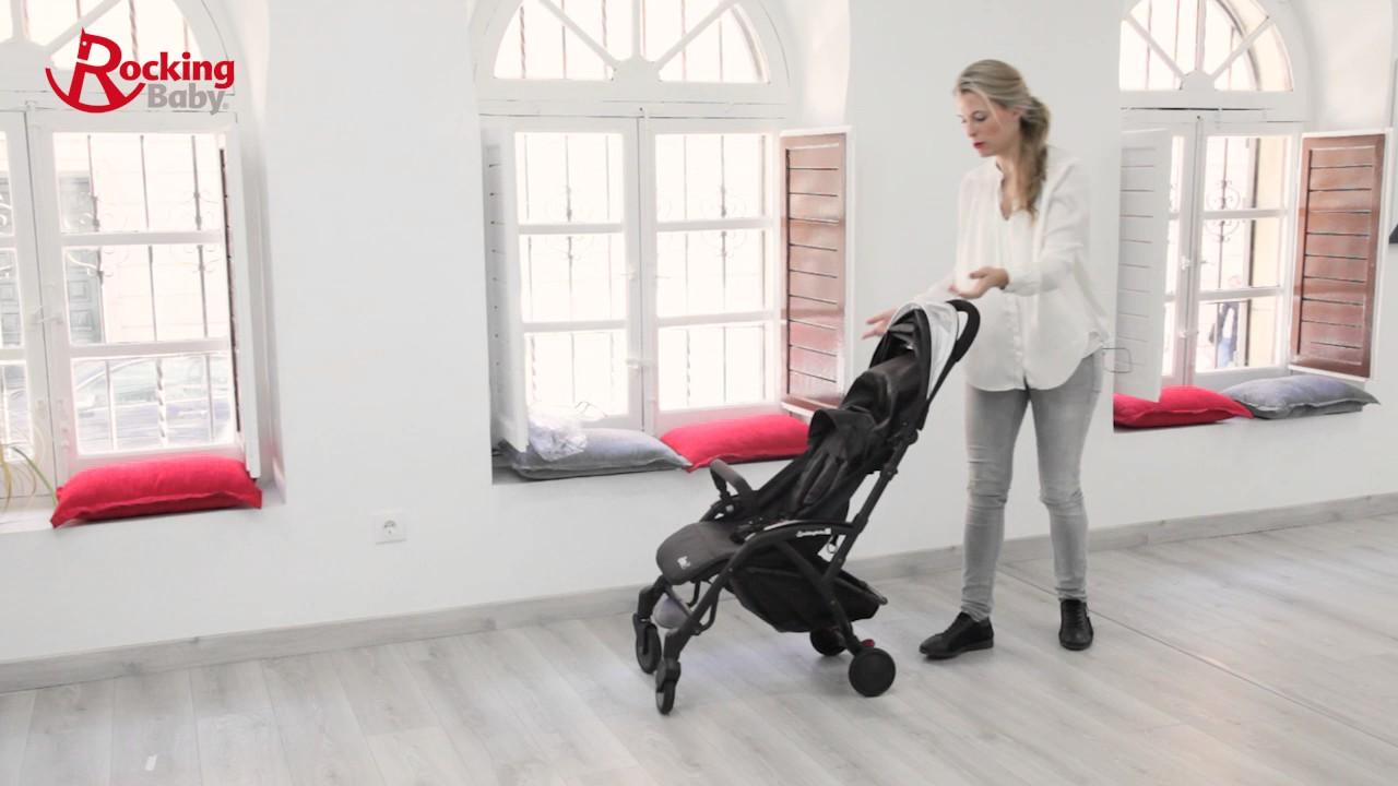 Silla de paseo rocking baby pocket ultra compacta ligera se mueve de maravilla youtube - Silla paseo compacta ...