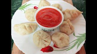 Veg Momos Recipe - Steamed Momos - Vegetables Dim Sum - Chinese Veg Momos