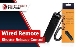 Wired Remote Shutter Release Control Product Review  – NTR