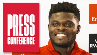 Thomas Partey | Press Conference | Mikel Arteta, Edu, transfer deadline day and more