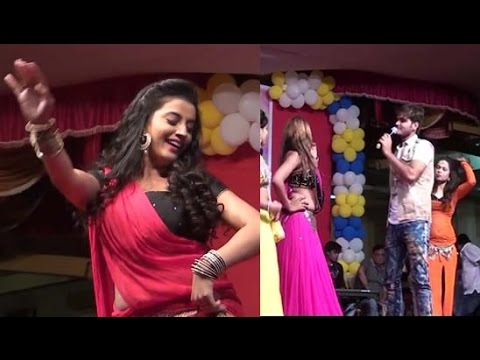 akshara with kallu Best Stage Show Bhojpuri