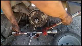comment changer un roulement de roue arriere