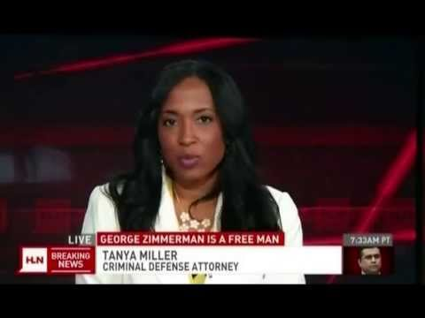 tanya miller on hln breaking news 7 14 13 on zimmerman verdict youtube