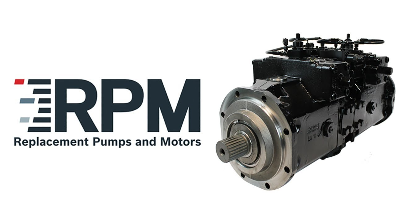 Welcome to Rexroth's RPM Program: Factory-Direct Replacement Pumps & Motors