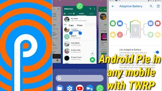 Android Pie: in redmi 3s and any other phone