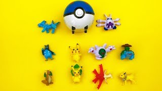 Pocemon Toys Unboxing Pocemon Collection Toys for Kids Nursery Rhymes Songs