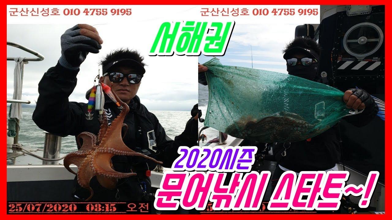 [STAY&HOOK ep.62]  서해 부안권 문어낚시 2020시즌 스타트~!!! (feat.군산리더낚시 신성호)