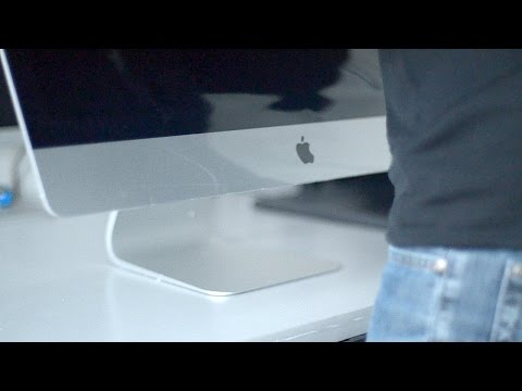 Unboxing my New iMac Computer