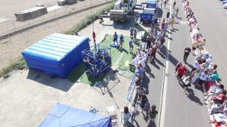 Brighton Beach Tandem Bungee 2015 - Extended Drone Footage
