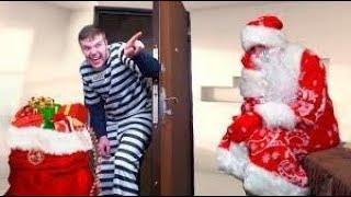 У Деда Мороза украли Подарки! Воришка попался в Новый год