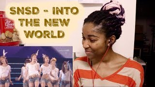 SNSD - Into The New World [SNSD REACTION] - Stafaband
