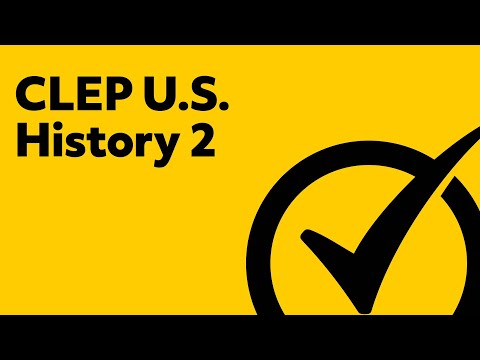 Free CLEP U.S. History 2 Study Guide