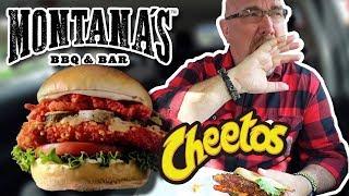 Blazin' Hot Cheetos Chicken Sandwich • Montana's BBQ & Bar
