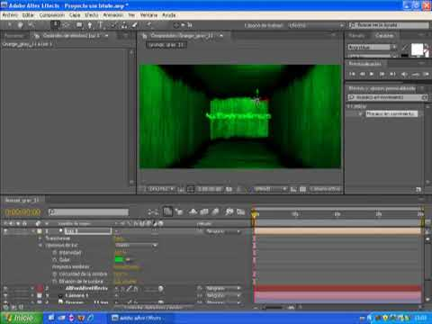 Tutorial after effects cs4 cuarto 3d youtube for Habitacion 3d after effects
