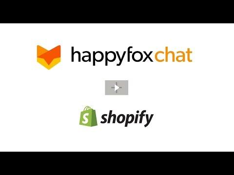 HappyFox Chat - Shopify Integration