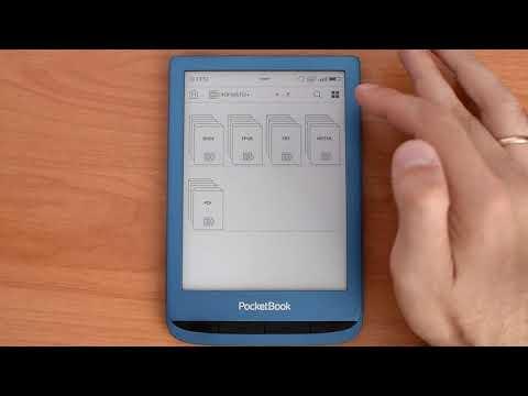 Обзор PocketBook 632 Aqua водонепроницаемой электронной книги!