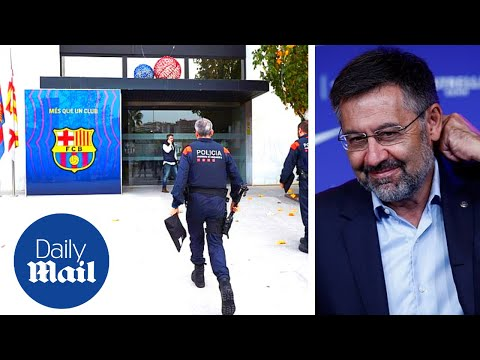 FC Barcelona: Police raid HQ and ARREST ex-president Bartomeu in 'BarçaGate' case