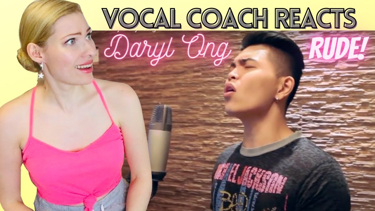 Vocal Coach Reacts: DARYL ONG 'Rude' Cover by Magic