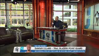 Portland Trail Blazers' Damian Lillard on Not Being Overlooked, But Looked Past - 4/13/18
