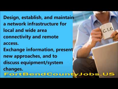 Chief Information Officer Job Description - Fortbendcountyjobs.us