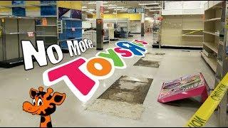 Toys R Us - No More - Empty Aisles - TRU Closing - End of an era